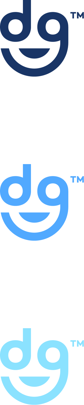 indigo logo mark stack color variations