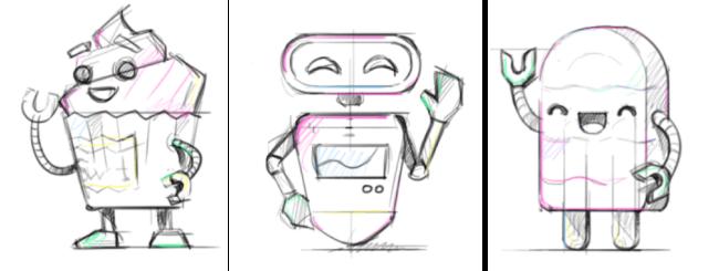sweet bot sketches