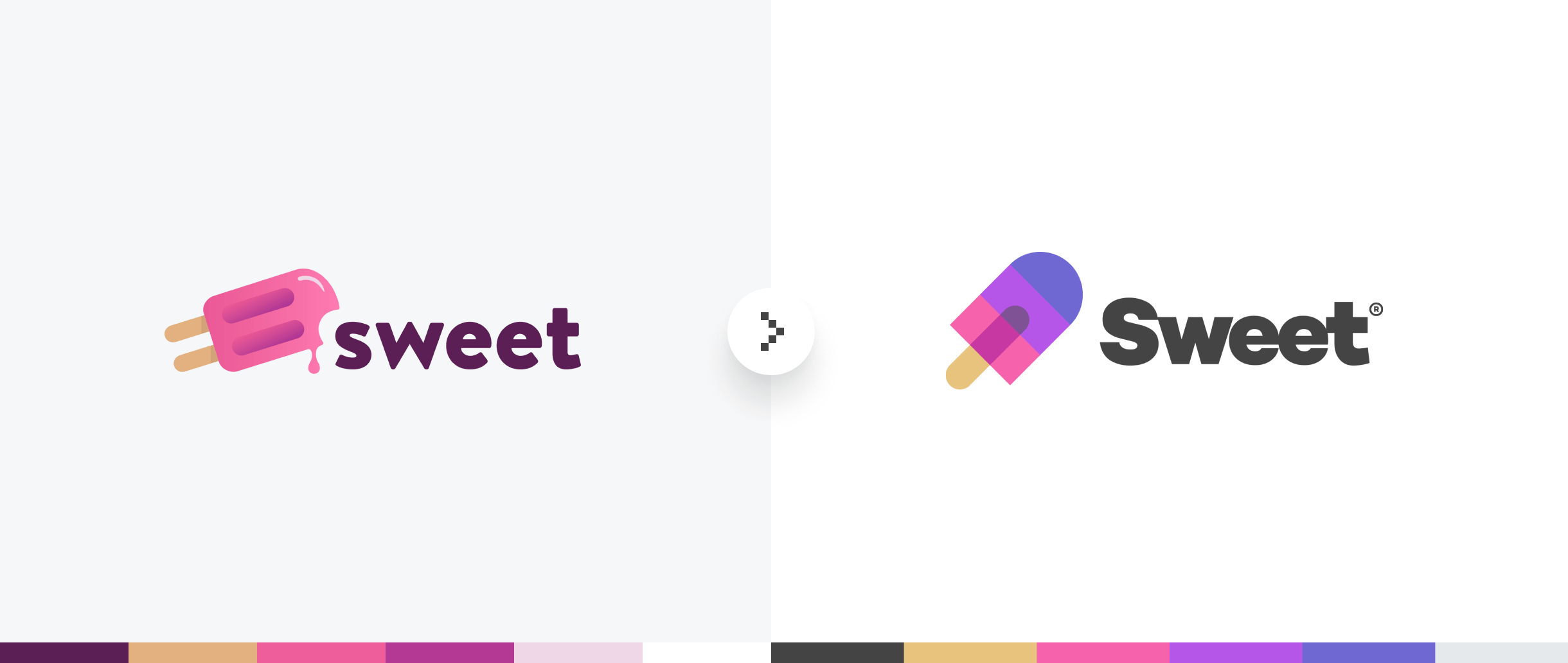 sweet brand refresh logo